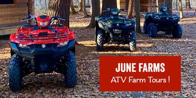 Gift Certificate - ATV Farm Tour for 4 Riders